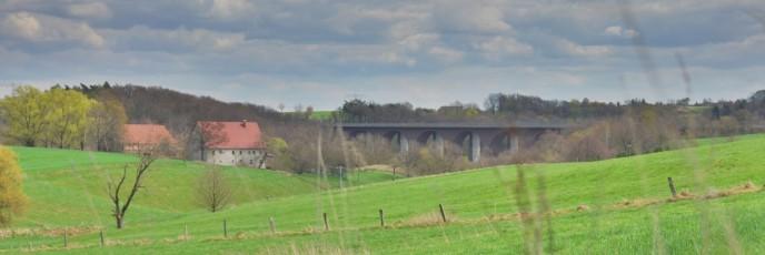 Schlegler Brücke über die kleine Striegis